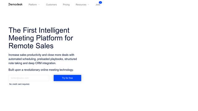Demodesk API koppeling
