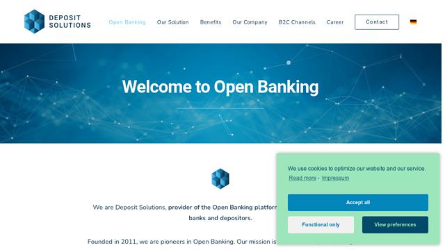 Deposit-Solutions API koppeling