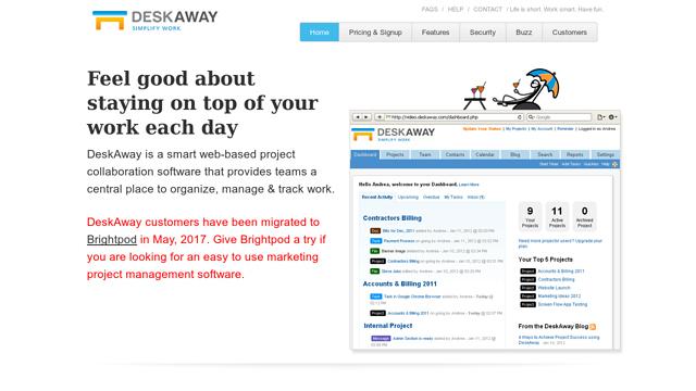 DeskAway API koppeling