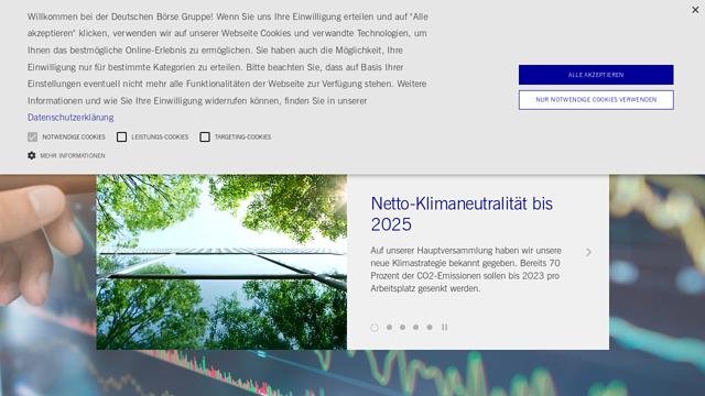 Deutsche-Börse API koppeling
