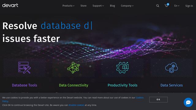 Devart API koppeling