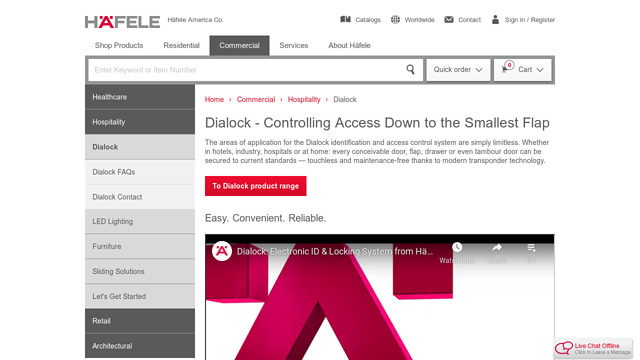 Dialock API koppeling