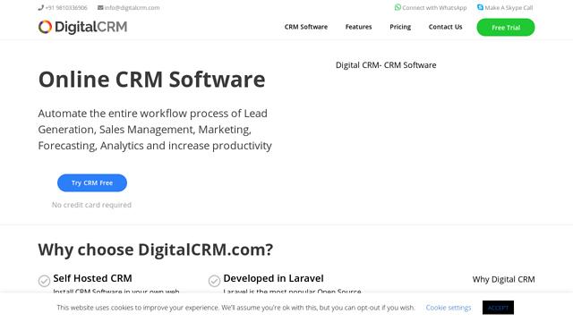 DigitalCRM API koppeling