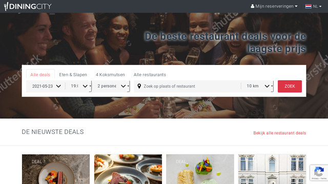 DiningCity-Belgium API koppeling