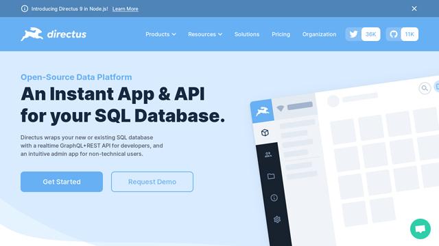 Directus API koppeling