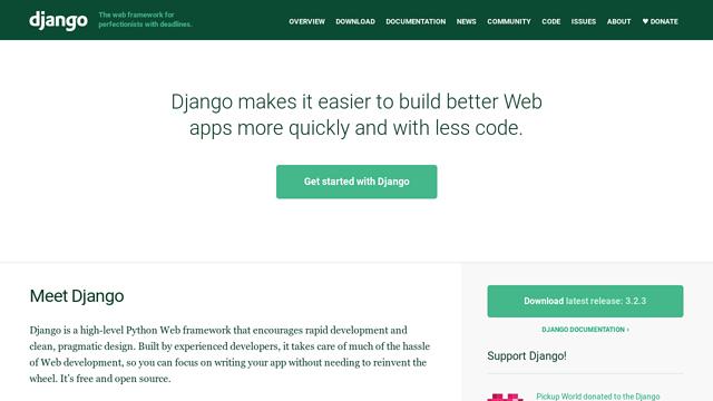 Django API koppeling