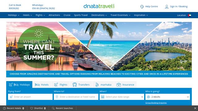 dnata-Travel API koppeling