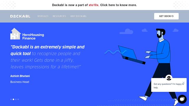 Dockabl API koppeling