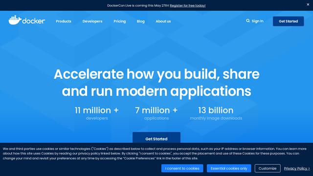 Docker API koppeling
