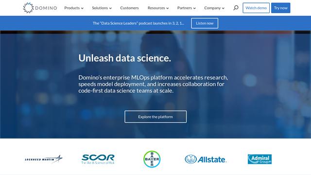 Domino-Data-Lab API koppeling
