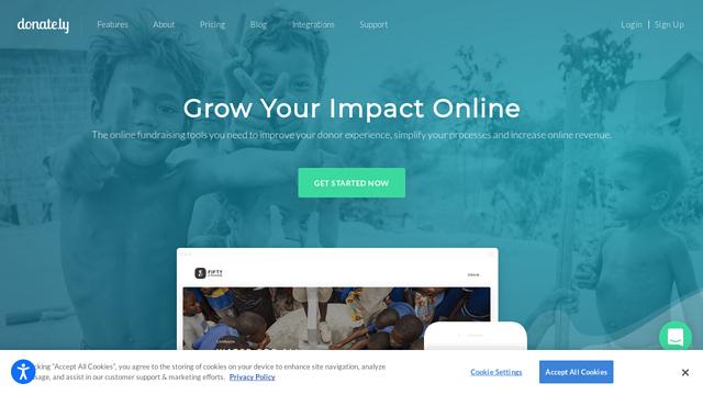 Donately API koppeling