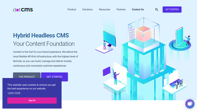 dotCMS API koppeling