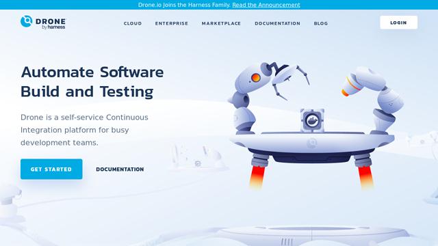 Drone.io API koppeling
