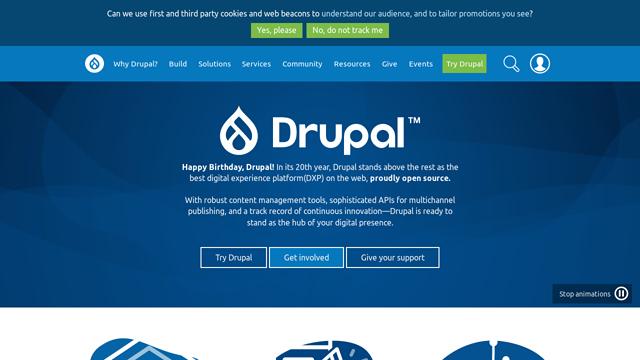 Drupal API koppeling
