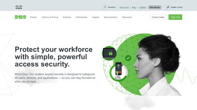 Duo-Security API koppeling