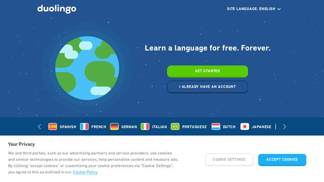 Duolingo API koppeling