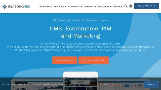 DynamicWeb API koppeling