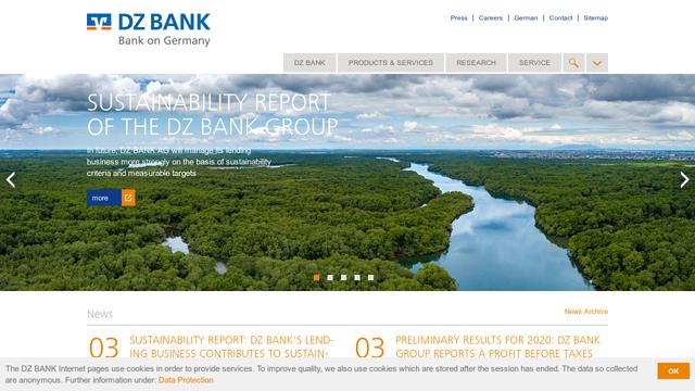 DZ-Bank API koppeling