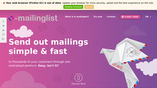 E-mailinglist-by-Stardekk API koppeling