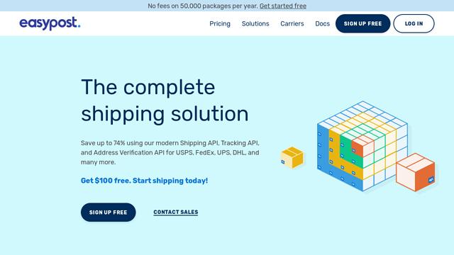 EasyPost API koppeling