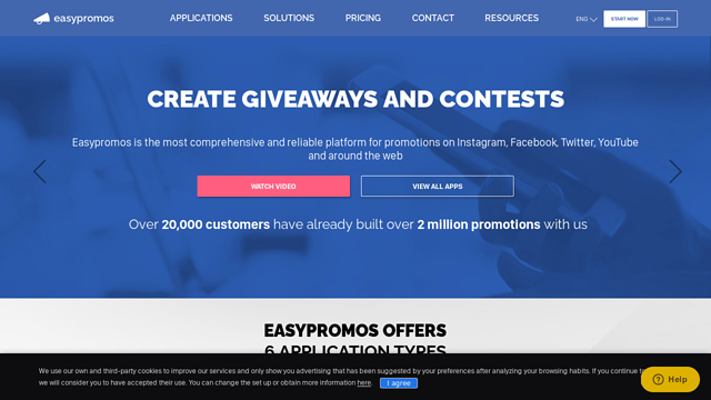 Easypromos API koppeling