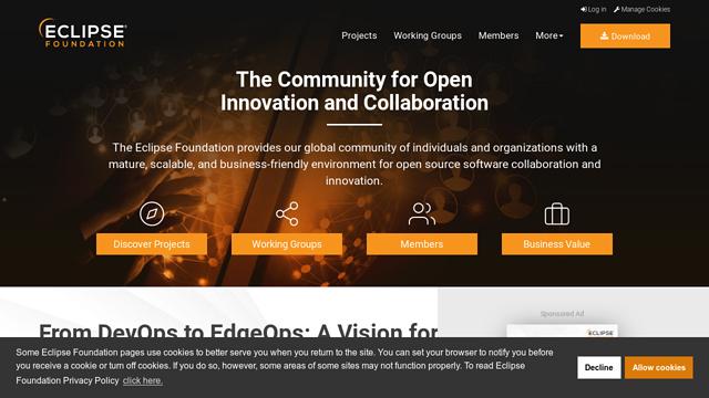 Eclipse-Foundation API koppeling