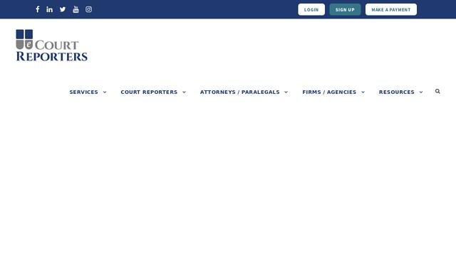 eCourtReporters API koppeling