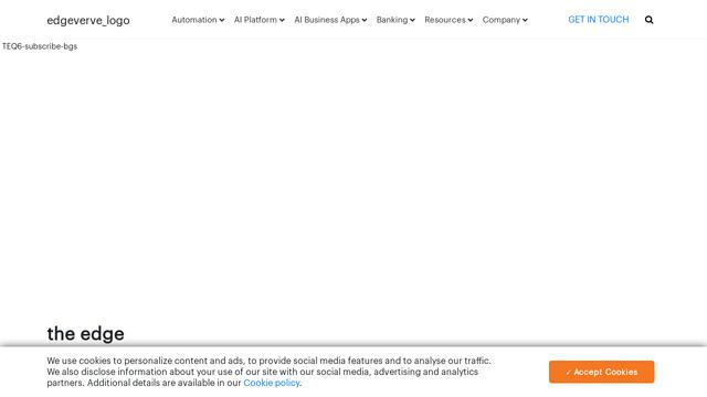 EdgeVerve API koppeling