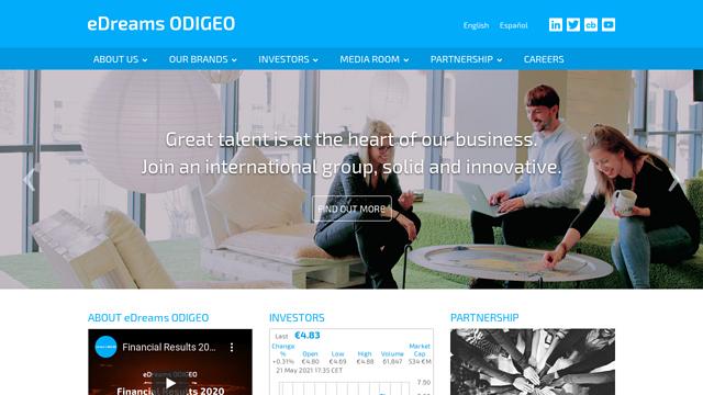 eDreams-ODIGEO API koppeling