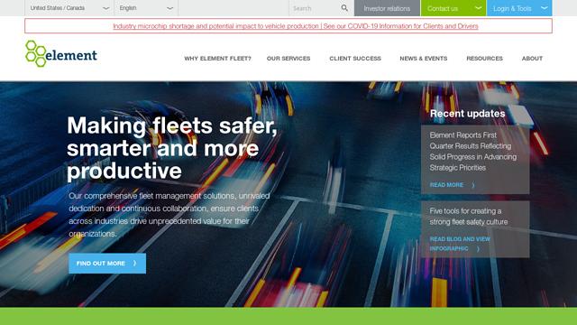 Element-Fleet-Management API koppeling
