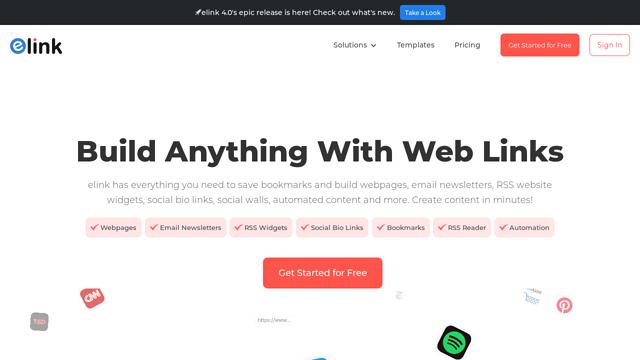 eLink API koppeling