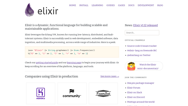 Elixir API koppeling