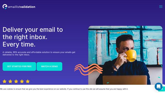 Email-List-Validation API koppeling