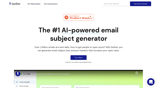 Email-Subject-Generator-by-Swifter API koppeling