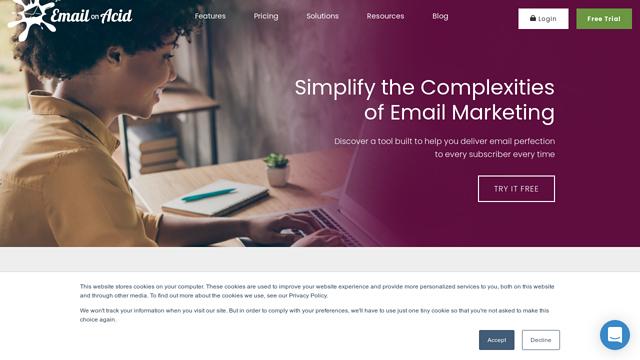 EmailOnAcid API koppeling