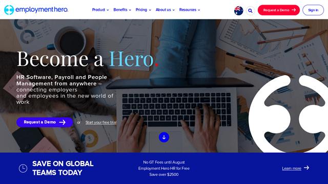 Employment-Hero API koppeling
