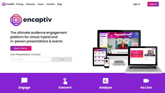 encaptiv API koppeling