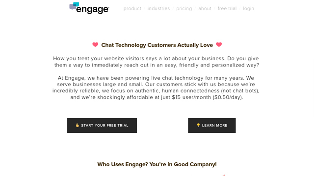 engage API koppeling