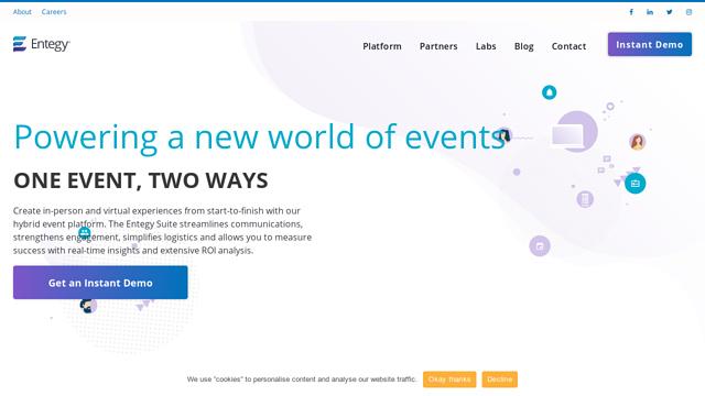 Entegy API koppeling