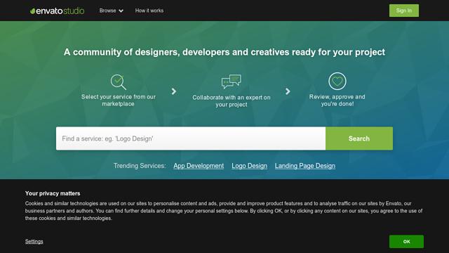 Envato-Studio API koppeling
