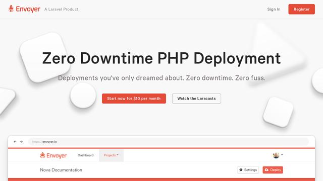 Envoyer API koppeling