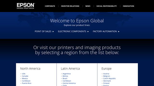 Epson API koppeling
