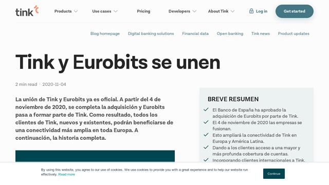 Eurobits API koppeling