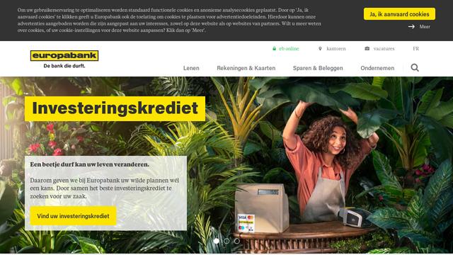 Europabank API koppeling