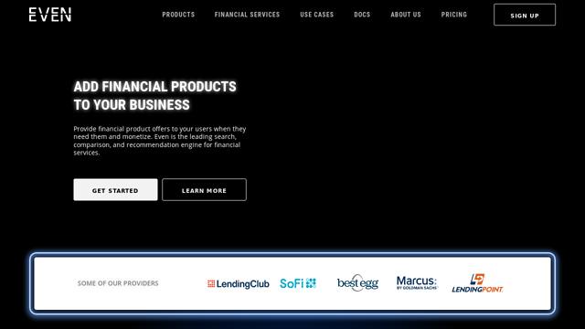 Even-Financial API koppeling