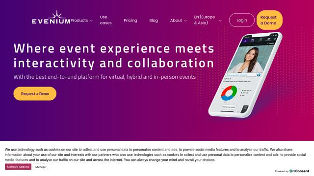 Evenium API koppeling
