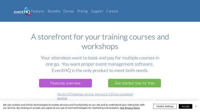 EventHQ API koppeling