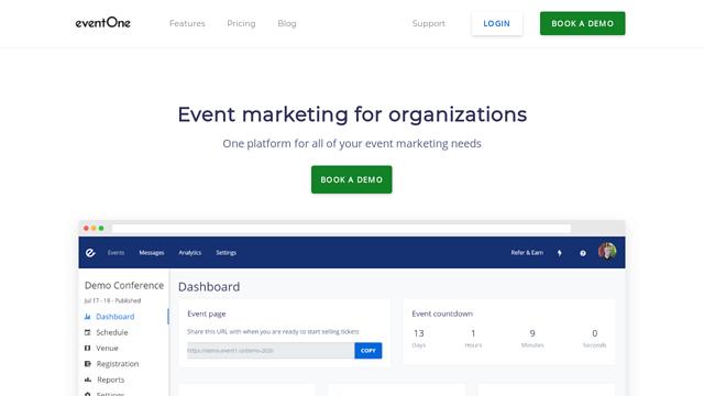 eventOne API koppeling