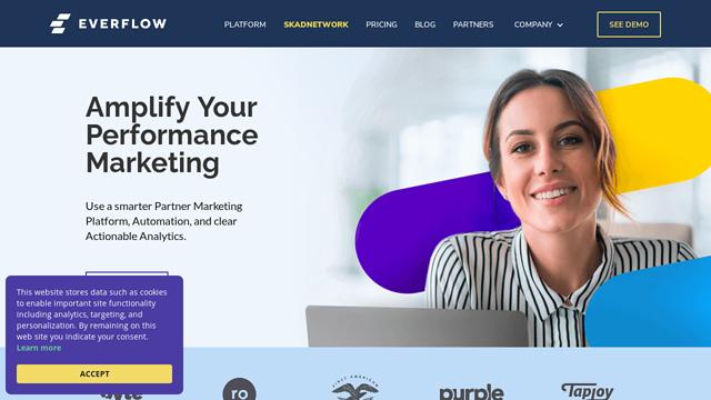 Everflow---Partner-Marketing-Platform API koppeling