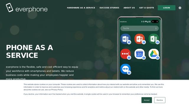 Everphone-Industrial-Co. API koppeling